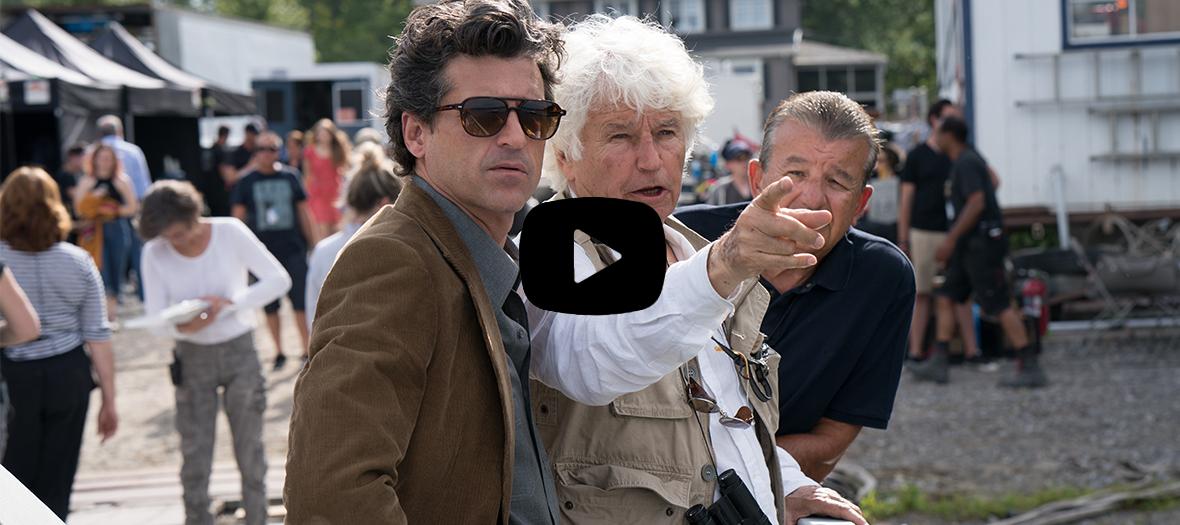 Extrait de la serie La verite sur l'affaire Harry Quebert avec Patrick Dempsey et Jean-Jacques Annaud