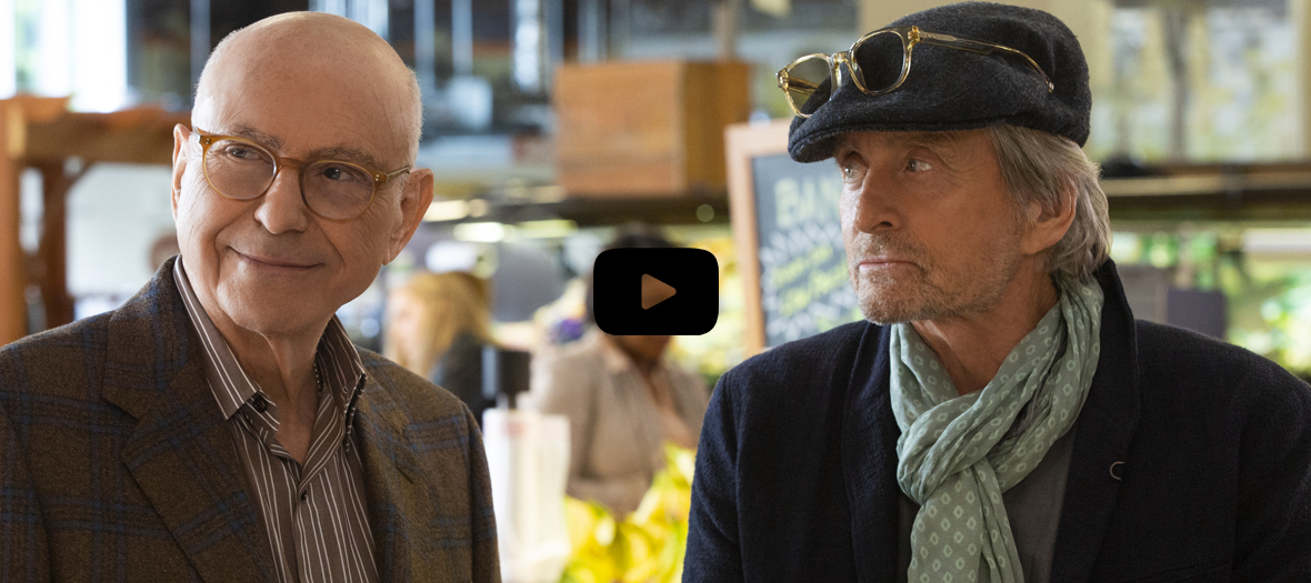 Extrait de la serie The Kominsky Method avec Alan Arkin et Michael Douglas