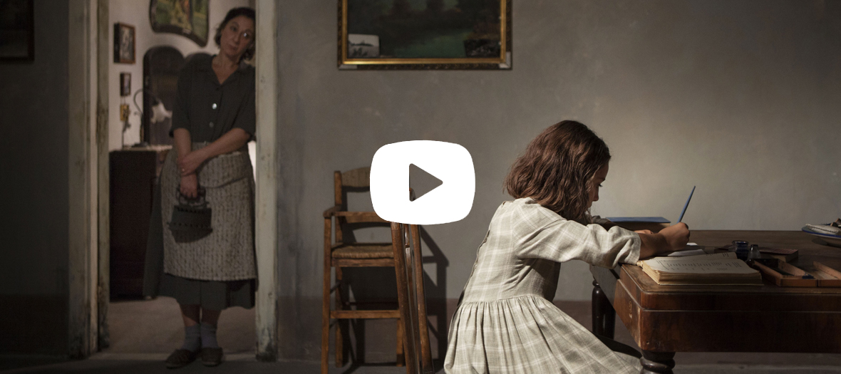 Extrait de la serie L'amie prodigieuse avec Elisa Del Genia et Annarita Vitolo