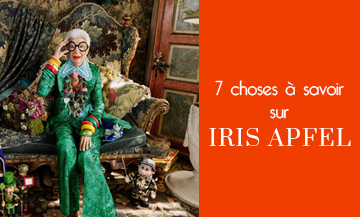 Life lessons by Iris Apfel
