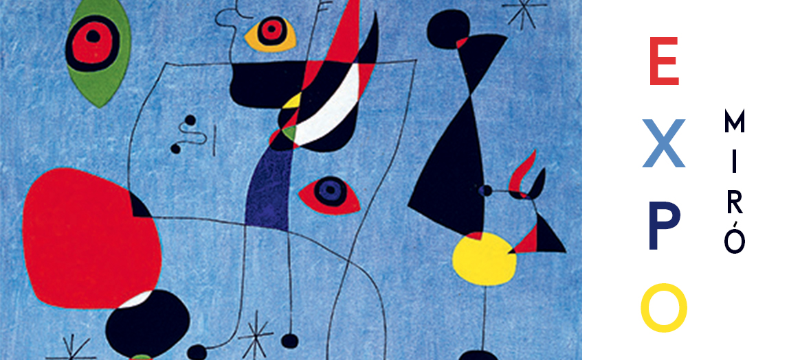 The Works of Joan Miró Exhibited by Jean-Louis Prat at the Grand Palais National Galleries