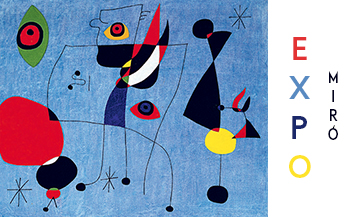 Miró, super star au Grand Palais