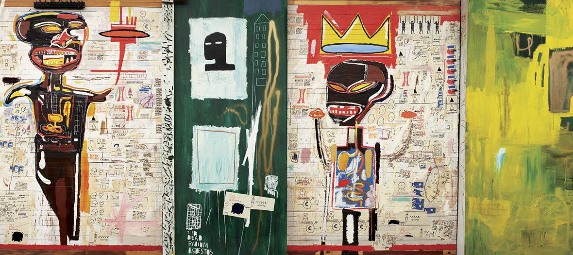tableaux de Basquiat