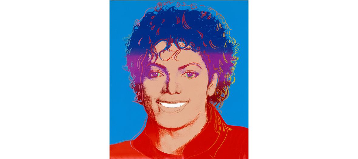 Portrait Michael Jackson