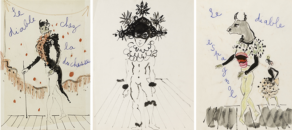 Exhibition And Auction Sale Of Unpublished Drawings By Ysl