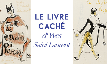 Expo : les dessins d'Yves Saint Laurent
