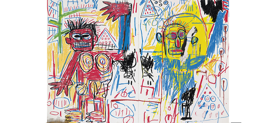 Expo Jean-Michel Basquiat a La Fondation Louis Vuitton