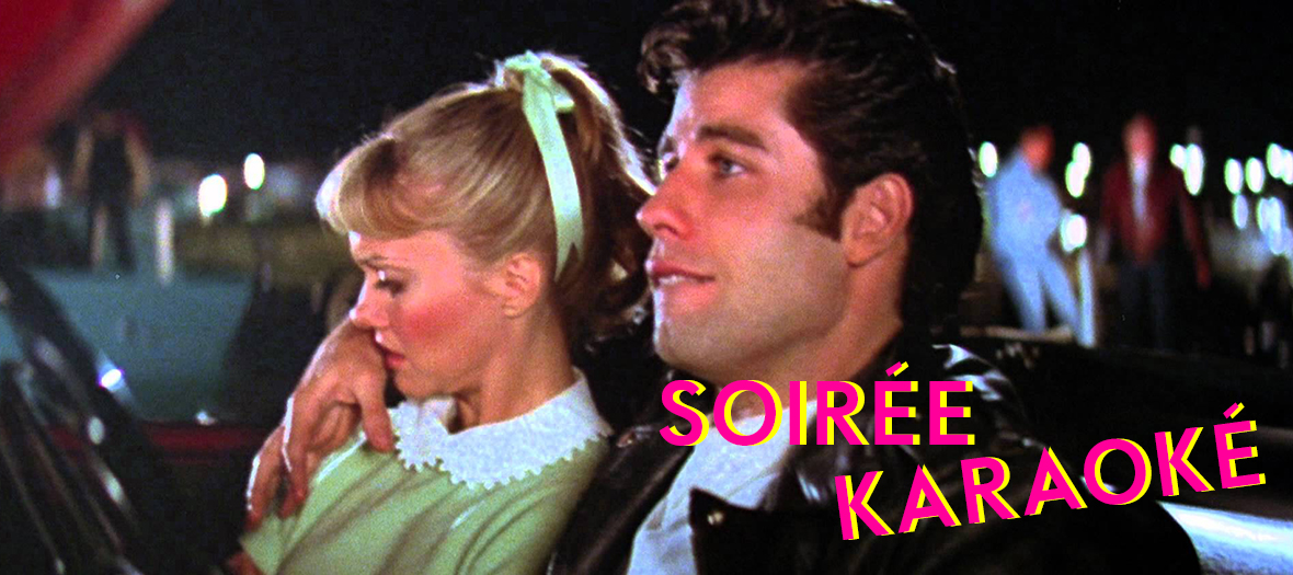 Cinema Karaoke Ecran Pop Grease