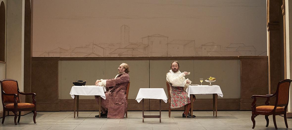 Extrait de la piece de theatre La Locandiera