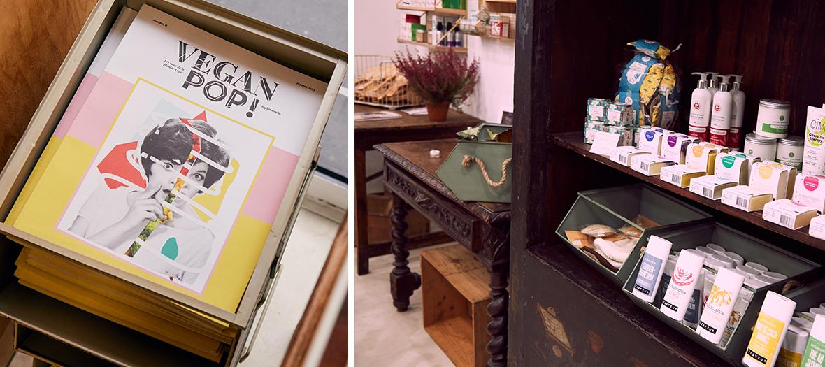 Produits cosmétiques naturels, meuble