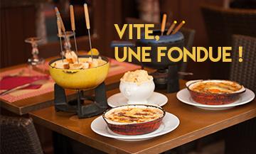 Fondue Raclette Paris