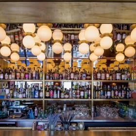 Restaurant de l'Hôtel des Grands Boulevards avec Giovanni Passerini