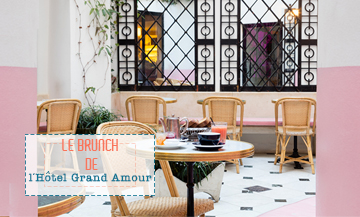Brunch a l'hotel Grand Amour