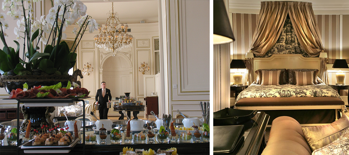 chateau chantilly chambre brunch