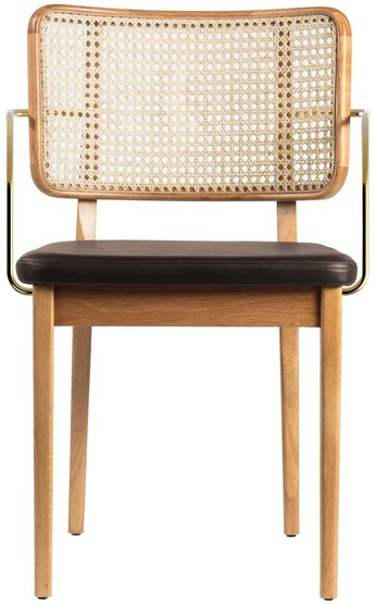 Decoration furniture armchairs and wicker mirrors for Cannage chaise paris
