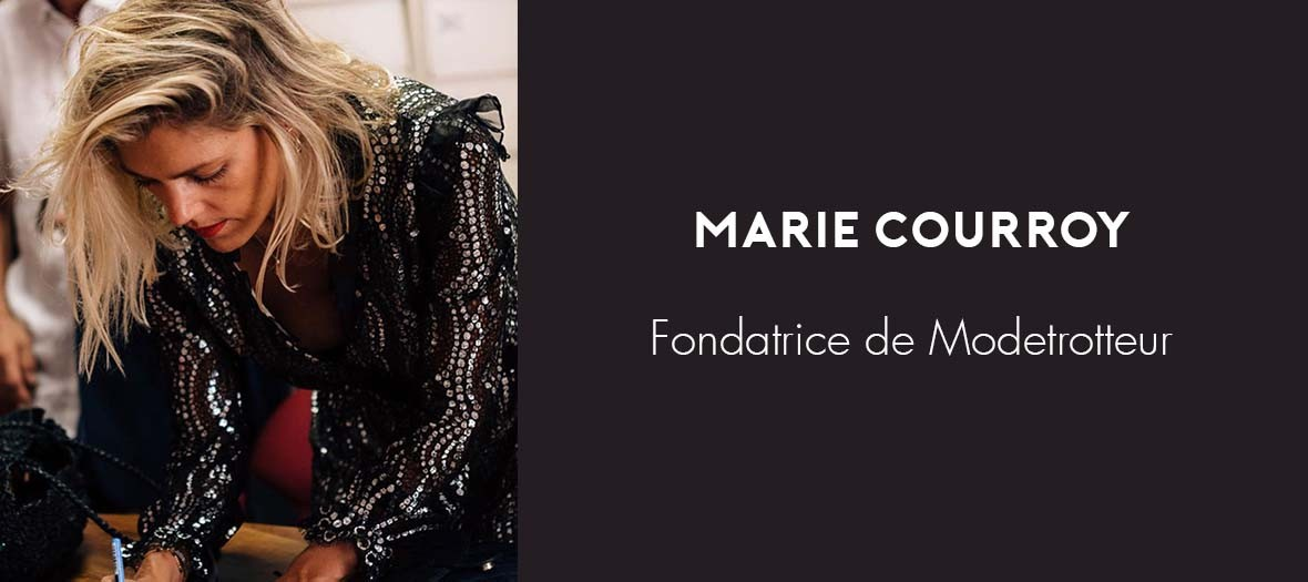 Marie Courroy Mode Trotteur