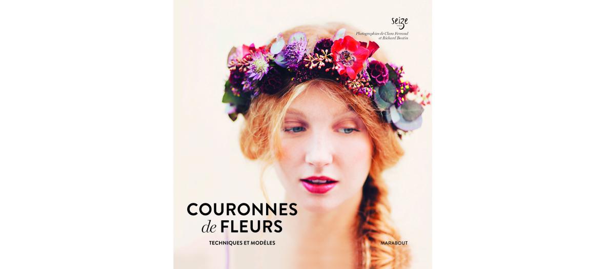 couronnes de fleurs livre marabout