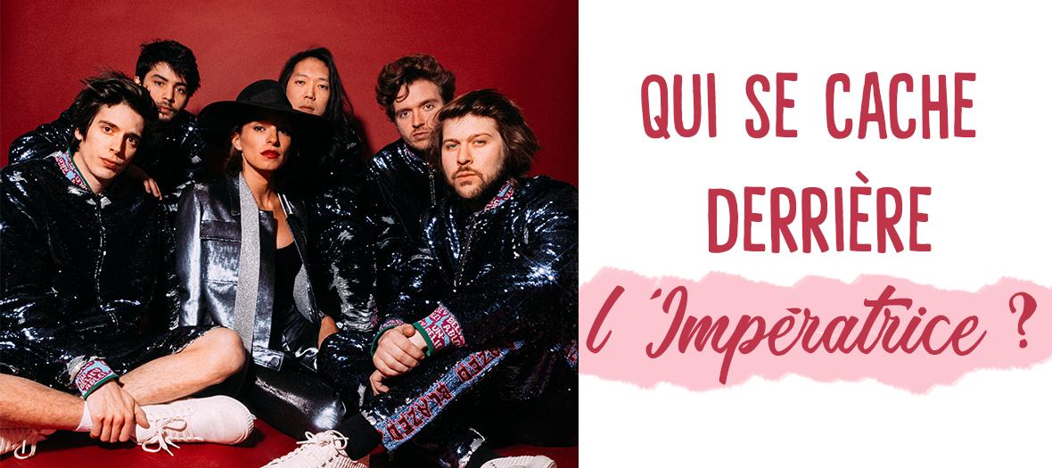 le groupe musique et dancefloor l'Impératrice