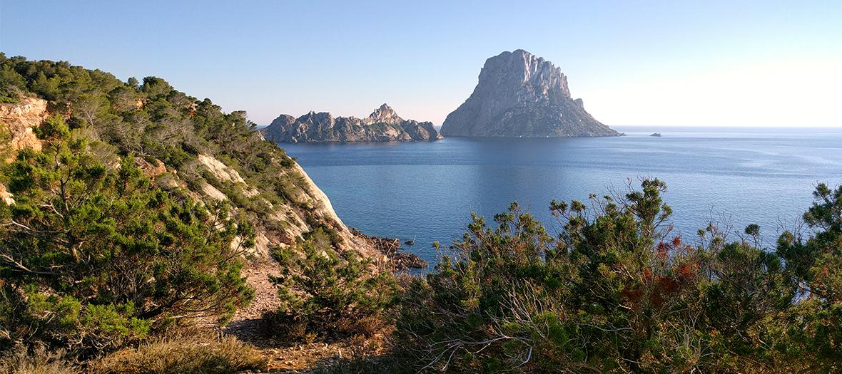 vue, panorama Ibiza