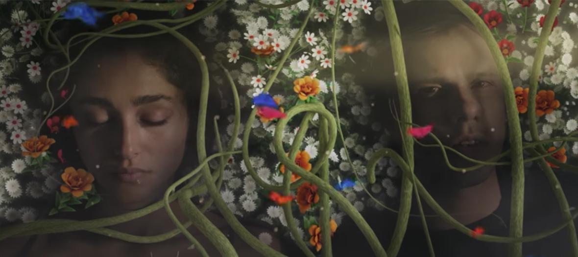 Golshifteh Farahani dans le clip Paradise d'Orelsan