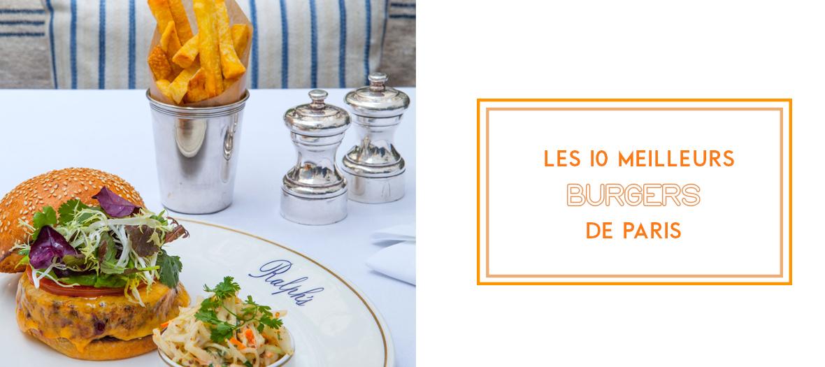 Où trouver le meilleur burger de Paris ?