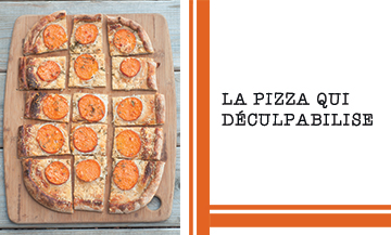 Pizza Patate Douce
