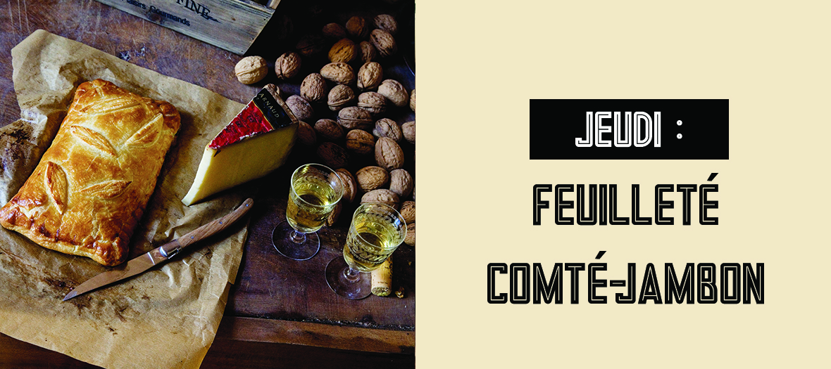 Recette mimi thorisson du feuillet au comt jambon et noix - C est au programme recettes de cuisine ...