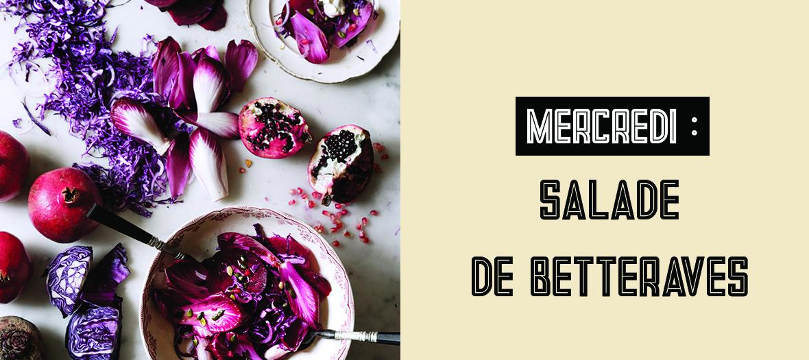 Recette Salade Bettrave