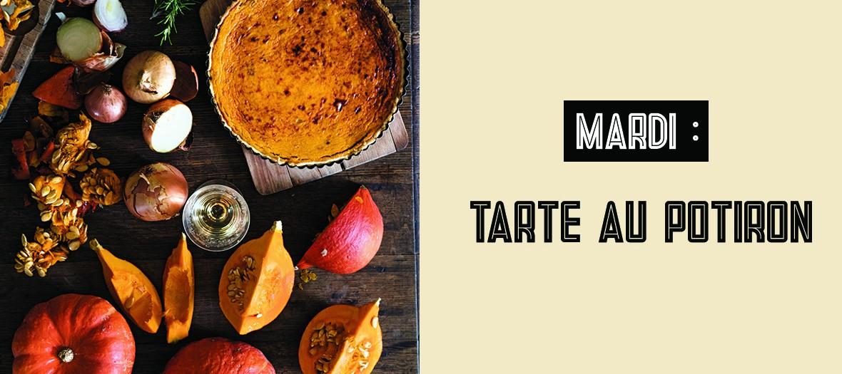 Recette Tarte Au Potiron