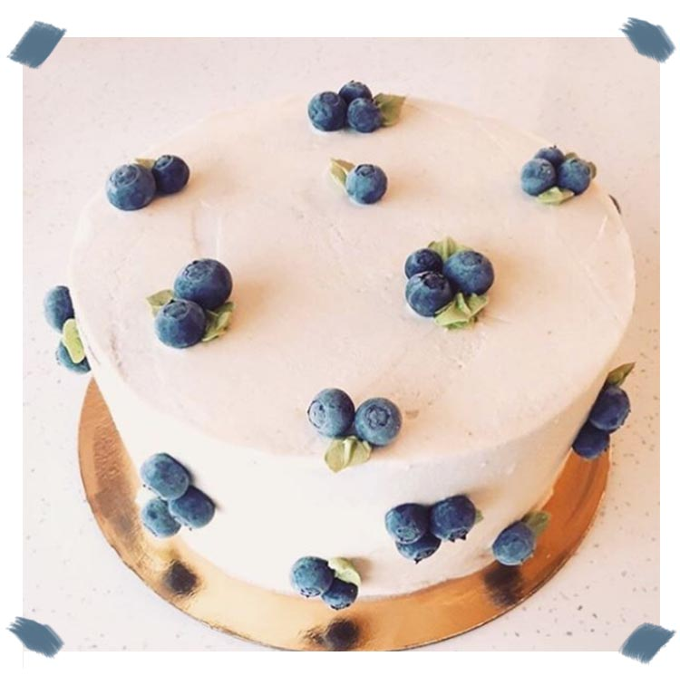Le Blueberry Cake de Lily of The Valley