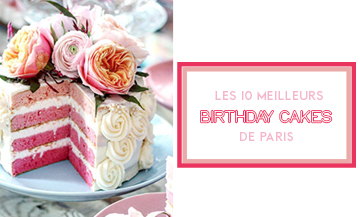 Où trouver un gâteau d'anniversaire à Paris ?