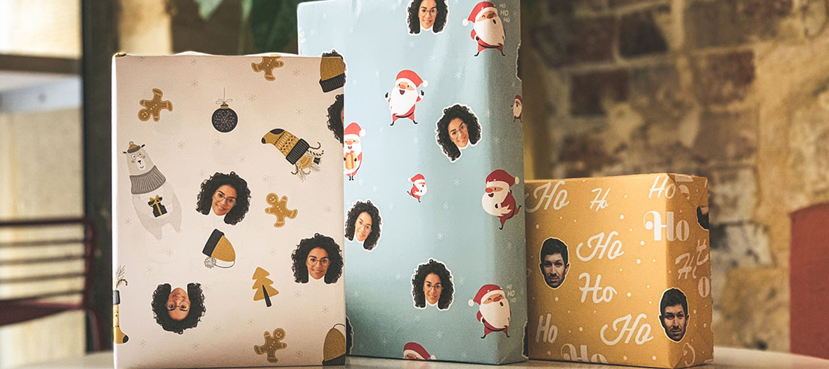 Personalized Gift Wrap from Starface
