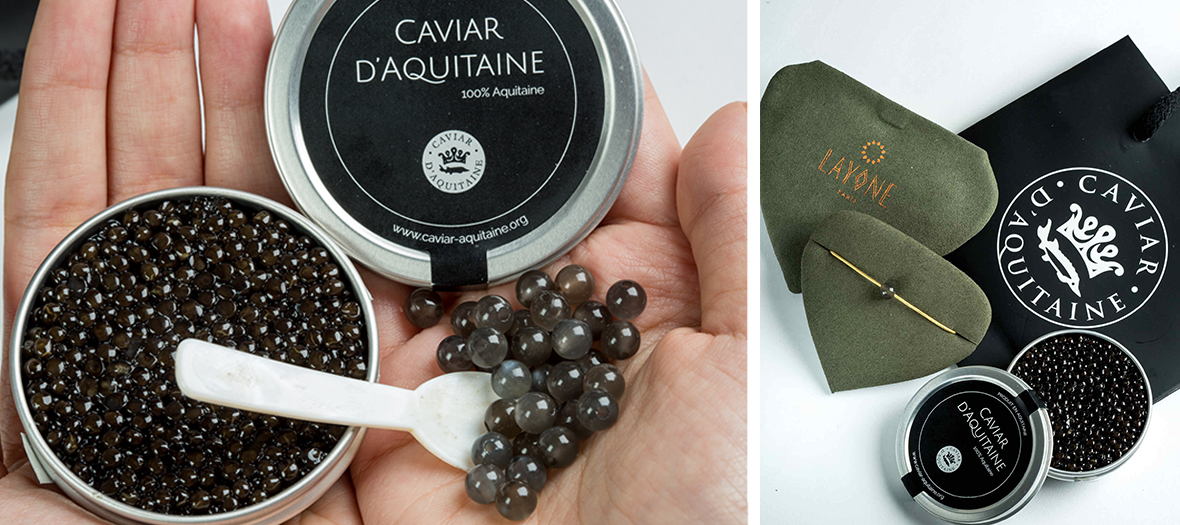 Caviar d'Aquitaine et Layone de Morganne Bello