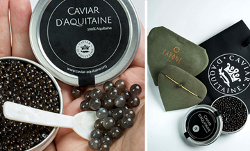 Win caviar and a nice piece of jewellery