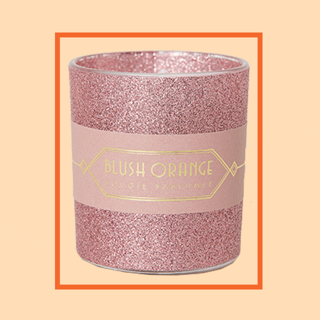 Bougie parfumee blush orange
