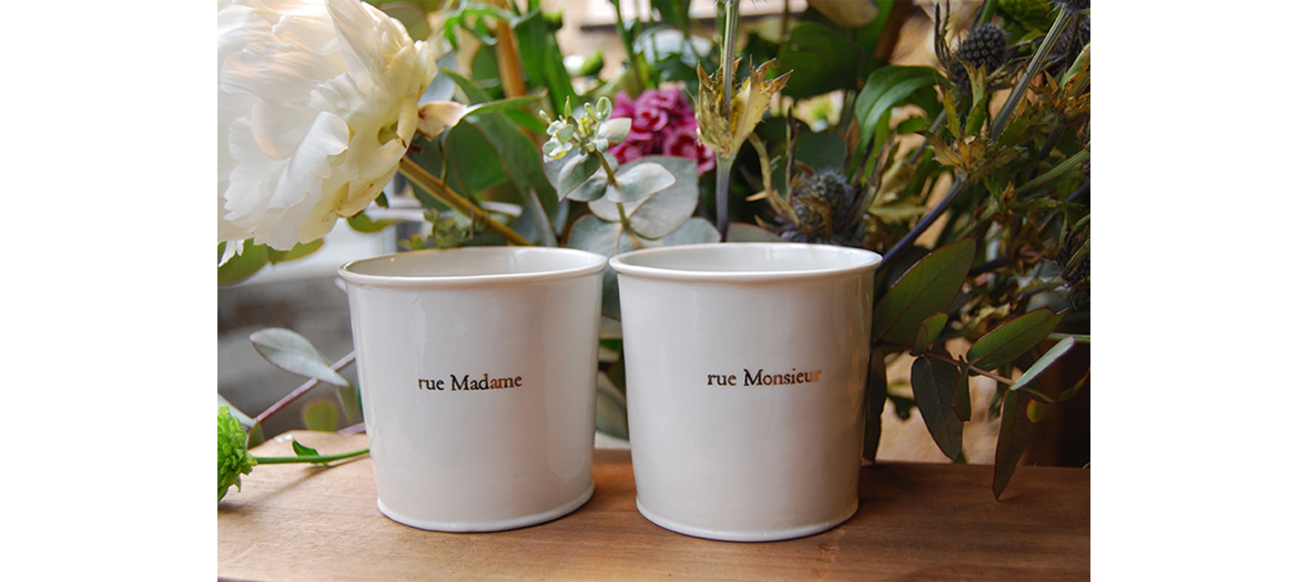Porcelaines avec message