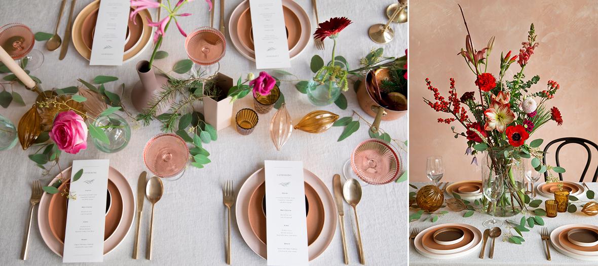 experience lifestyle, atelier composition bouquets, deco table