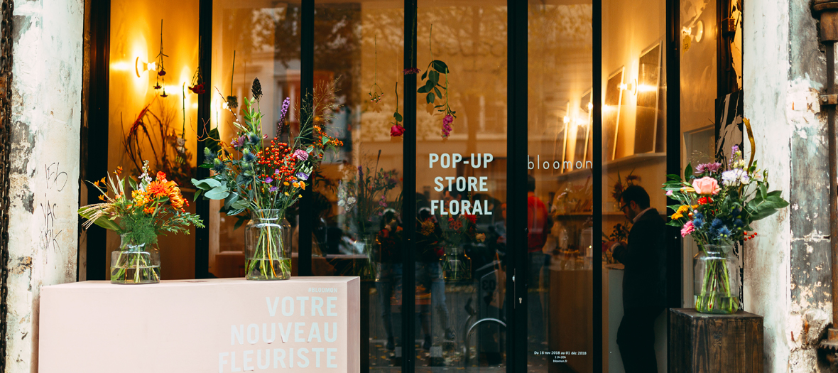 Bloomon Pop Up Store floral Nov 2018