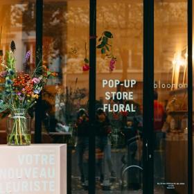 Bloomon Pop Up Store floral Nov 2018