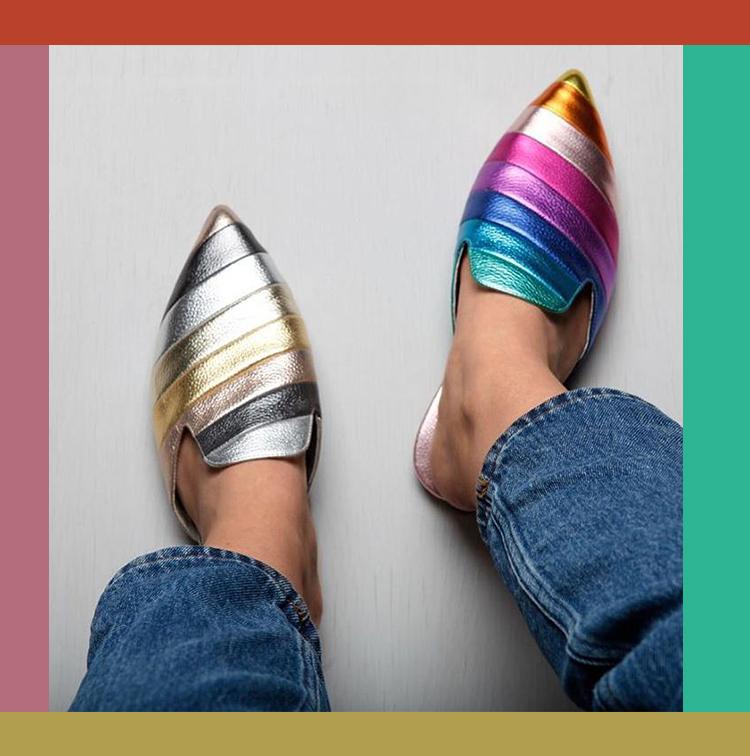 Mules rainbow