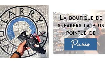 The coolest sneakers boutique in Paris