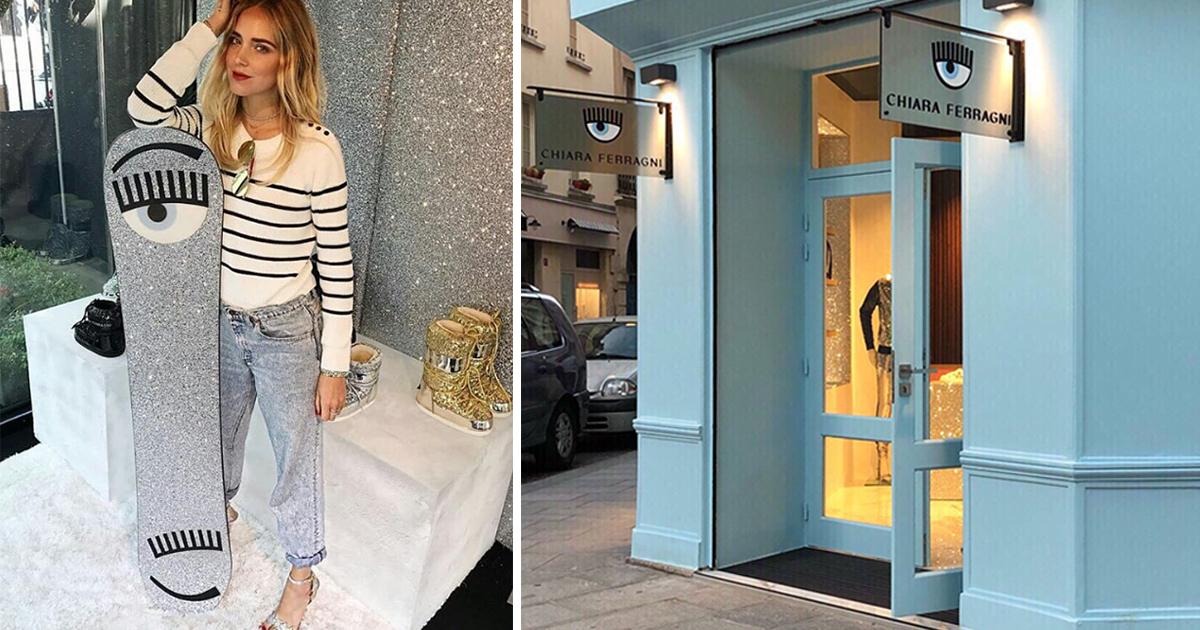 805c56752db Chiara Ferragni opens a boutique in the Parisian Marais