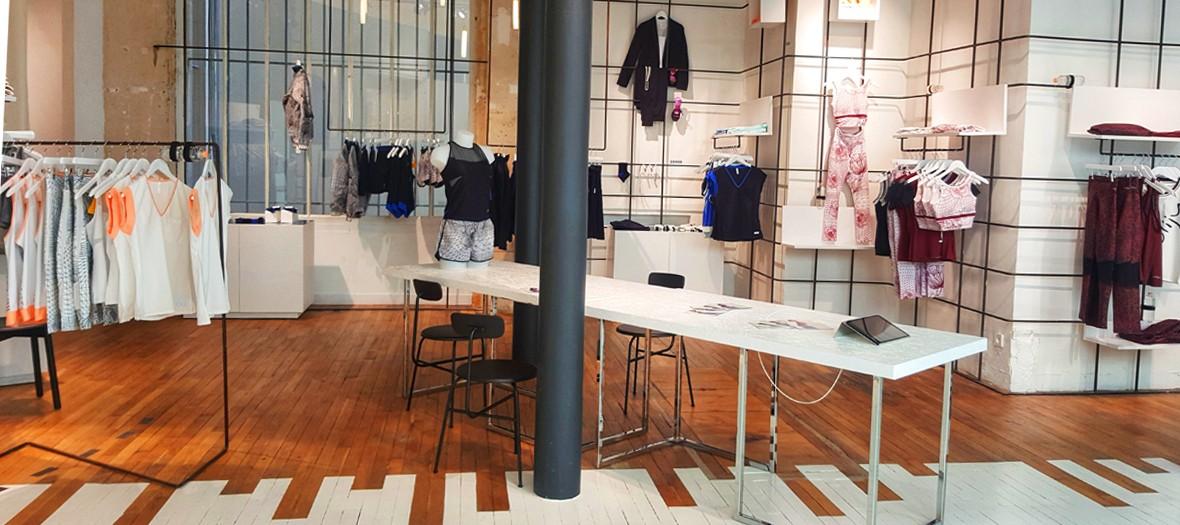 Concept store et boutique ephemere dans le Marais
