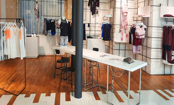 The new concept-store that breaks up the routine