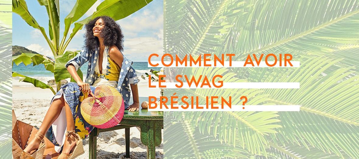 pop up store brésilien dans le Marais