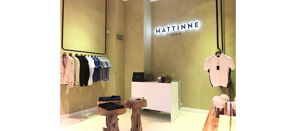 Interieur de la boutique