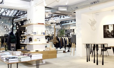 The concept-store of trendy Parisians