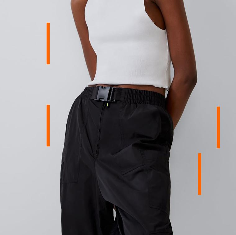 Pantalon de Jogging en nylon Zara