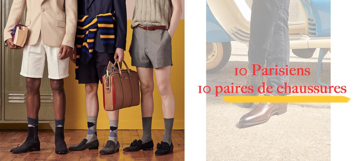 Mode : les 10 paires de chaussures tendances pour hommes