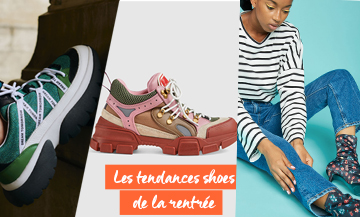 Mode Rentree Chaussures Sept 2018